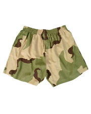 Camouflage BOXER SHORTS DESERT CAMO SIZE S US Army Underpants Camo Underwear