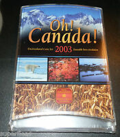 2003 ~ OH CANADA RCM 7 Coin Set  - NEW Sealed in Original Wrappers