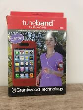 "Tuneband for iphone 4/4S Fits Arm sizes from 7 to 18"" Red NEW in box"