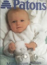 Patons Baby Millennium Knitting Pattern Booklet 10 designs Fairytale Christening