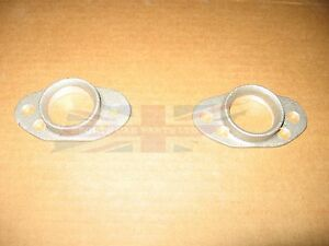 "Pair of new stub stacks for Pancake Air Filters for 1 1/4"" SU MG Midget Sprite"