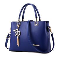 Fashion Women Handbags Shoulder Bag Messenger Crossbody Purse Faux Leather Tote