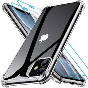 CLEAR Shockproof Case For iPhone 11 Pro Max XR X XS Max 8 7 Plus Cover Silicone