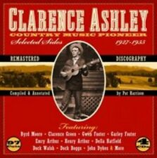 CLARENCE ASHLEY (SINGER/BANJO) - COUNTRY MUSIC PIONEER 1927-1935 NEW CD