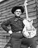 Country Singer MERLE TRAVIS Glossy 8x10 Photo Poster Western Swing Music Print