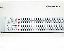 Phonic A6600 Dual Channel 31-Band Graphic Equalizer