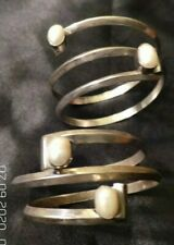 2 - Lilly Barrack Sterling Silver -  Pearl Bracelets