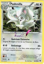 "Carte Pokemon "" PASHMILLA "" Impact des destins XY PV 90 89/124 UNCO VF"