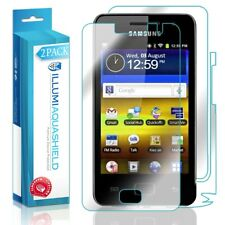 2x iLLumi AquaShield Front Screen + Back Protector for Samsung Galaxy Player 3.6