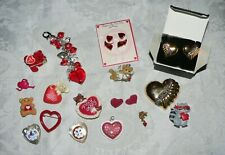 Sweethearts Jewelry Lot-Beautiful Avon Set + Loads of Pins/Pendants-Cute Stuff