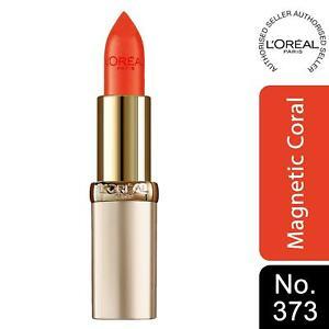 L'Oreal Paris Color Riche Satin Lipstick 373 Magnetic Coral