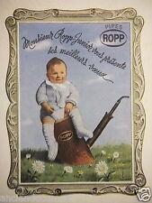 PUBLICITÉ 1943 PIPES ROPP - PUB.P.BABEY - ADVERTISING