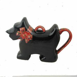 Scot-tea Scottie Dog Tea Pot Two Cup Teapot Carters of Suffolk  Birthday Gift