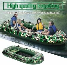 Camouflage 4 Person 10FT Inflatable Boat Fishing Rafting Water Sports WB10