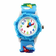 Kids Analogue Watch for Boys Girls, Cute Waterproof Childs Teaching Toy Watches,