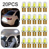 20Pcs/Set T10 501 W5W Car Side Light Bulbs Error Free Canbus Wedge SMD LED Xenon