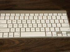 Apple Wireless Keyboard A1314 Silver
