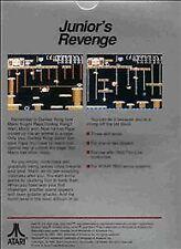 NEW W/CREASED  BOX PAL DONKEY KONG JR JUNIOR GAME FOR ATARI 7800 NOT FOR USA E21