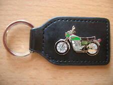 Schlüsselanhänger Yamaha XS 650 / XS650 grün weiß Motorrad Art. 0490 Motorbike