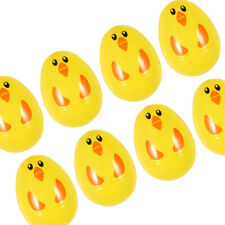 12 Plastic Filler Eggs Easter Hunt Empty Shell Childrens Game Treat