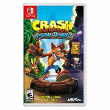 Crash Bandicoot N-Sane Trilogy Video Game (Nintendo Switch, 2018)