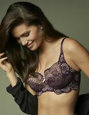 New 2017 Panache Lingerie Andorra Full Cup Bra Mineral Blue or  Purple Gold