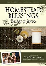 Nest Family - West Ladies - Homestead Blessings: The Art of Sewing DVD NEW!