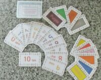 First learning packs, numbers, colours and alphabet cards. Educational learning