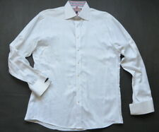 Pink Thomas Pink Dress Shirt 15 1/2 39 cm Slim Fit French Cuff White London