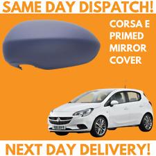 Left Passenger Side Mirror Glass for Vauxhall Corsa Mk3 Mk4 D E 2006-2019 0026LS