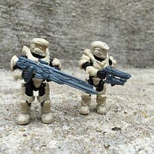 Halo Mega Bloks Set #CNK25 UNSC Fireteam Rhino Figure # 2 & 7