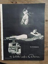 1951 Dana Tabu cologne perfume bottle you the enchantress vintage ad