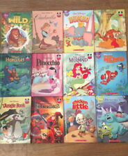 Disney Wonderful World Of Reading Children's Books Lot of 12