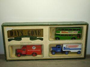 Bus & Trucks - Days Gone Lledo Set in Box *51348