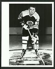 Dallas Smith Boston Bruins 1960s Vintage Hockey Press Photo