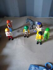 Playmobil Circus Clown Queen zoo and more Figure Lot