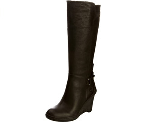 New in box Timberland Womens Stratham Heights Tall Boots Black Leather 10 & 11
