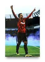 Robin Van Persie Signed 6x4 Photo Manchester United Autograph Memorabilia + COA