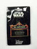 Disney Pin 112271 DSF DSSH STAR WARS: THE FORCE AWAKENS MARQUEE LE 500