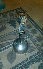 Antique Coleman Quick-Lite Nickle plated Table Lamp Vintage Parts or repair!
