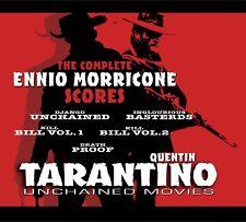 ENNIO MORRICONE - QUENTIN TARANTINO UNCHAINED MOVIES 2 CD NEUF