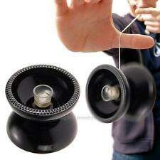 Professional YoYo Ball Bearing String Trick Alloy Kids Triaxial Toys Black