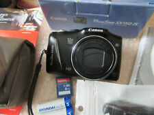 Canon PowerShot SX150 IS 14.1MP Digital Camera - Black EXCELLENT CONDITION