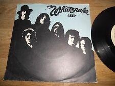 """WHITESNAKE """"READY AN´WILLING/NIGHTHAWK"""" 1979 USED RECORDS UK UNITED ARTISTS RARE"""