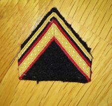 patch galon grade sergent militaire service national armée ADL troupes de marine