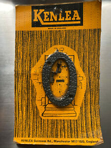 """Black Rustic Style Numerals Plastic Door Number 2½"""" (65mm).    No. 0"""
