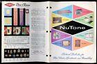 1967 NUTONE intercom built-in stereo range hood etc wholesale catalog midcentury