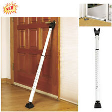 Lock Door Security Safety Bar Dual Function Window Brace Protect Adjustable Home