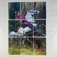THE PHANTOM MOVIE (Inkworks 1996) Complete FOIL JOE JUSKO Puzzle Chase Card Set