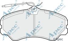 FRONT BRAKE PADS FOR TALBOT EXPRESS 1000 -1500 GENUINE APEC PAD636